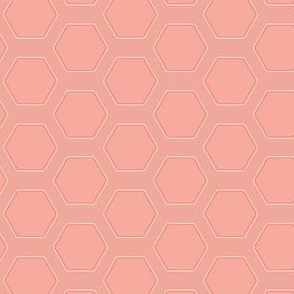 Rose Hexagons
