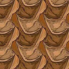 Pine Cone Scales Tesselated