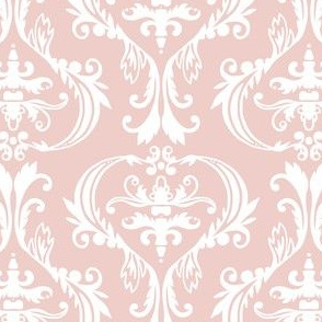 Damask in pink