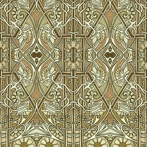 When Art Nouveau Learned to Waltz