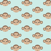 Monkeys on mint