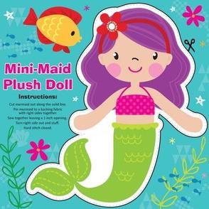 Mini-Maid Plush Doll Kit