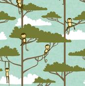 Tree Top Monkeys