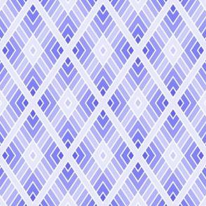 diamond fret : lavender blue