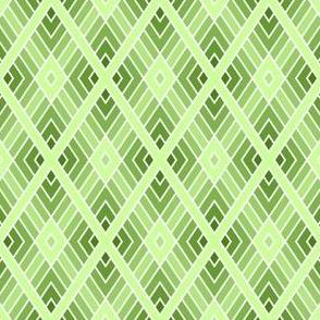 diamond fret: limestone green