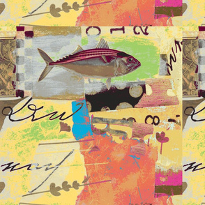 Fish magenta