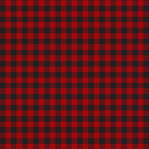 Two Tone Red Buffalo Plaid