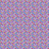 Rainbow Polka Dots - Purple