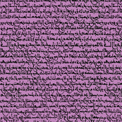 Ancient Arabic on Violet