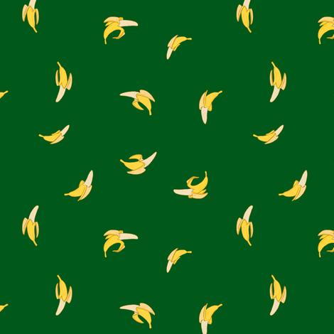 Bananas on Green