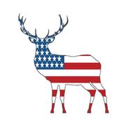 American Deer Swatch