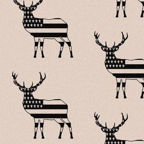 """Rustic American Deer (4"""")"""