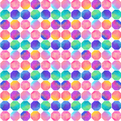 Colorful Watercolor Octagons