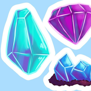 Gem Pillows