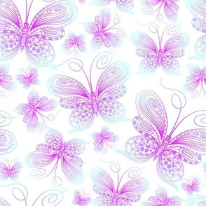 Daydreaming butterflies