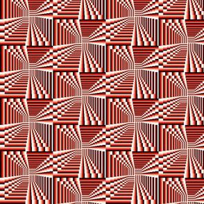3D Squared Stripes