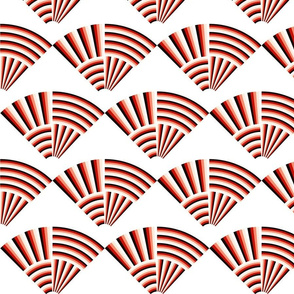 Woven Striped Fans