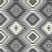 Navajo - Soft Black, Gray, and Cream 1