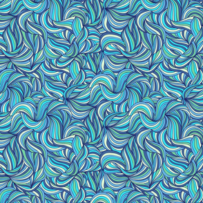 waved  pattern