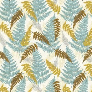 Botanical Ferns - Autumn