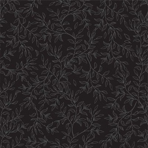 Rambling Vines - Black