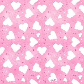 Hearts & Confetti
