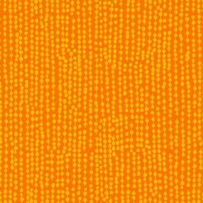 The Painted Pantry - Beaded curtain  Orange