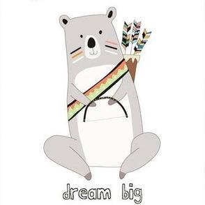 dream big indian bear
