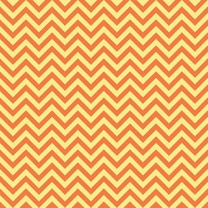 chevron - orange