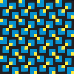 Decorative pattern of square shapes
