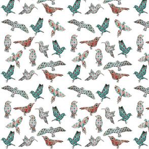 Midcentury Birds