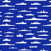White Fleet at Sea