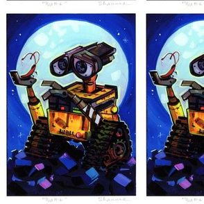 WALL E Painting