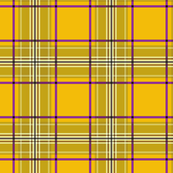 Dean's Yellow & Olive Green Plaid