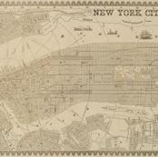 1860 New York City Map
