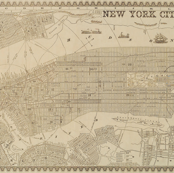 1860 New York City Map