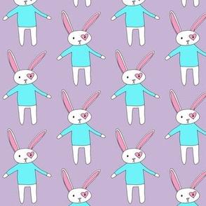 Bunny in Blue