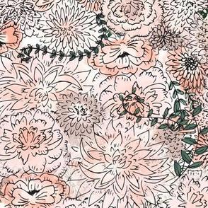 Blushing Garden