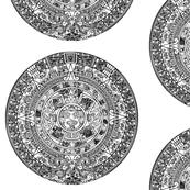 Aztec Calendar - Medium