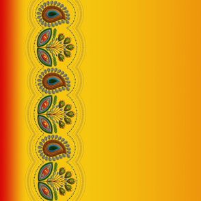 Flower_Border_red-orange_18x42