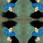 Fashion Illustration-big hair