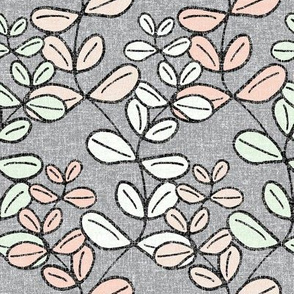 Growing Lucky - The Wedding Edition in grey linen