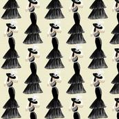Fashion Illustration-Lady in hat
