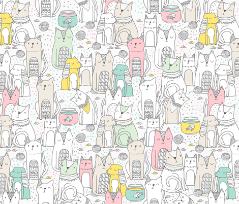 Doodle cats and dogs