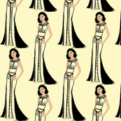 Fashion Illustration-Lady in gown