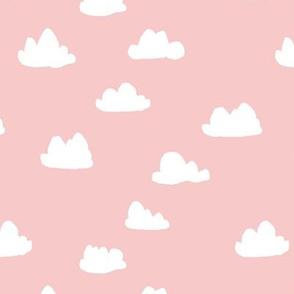 Clouds // pantone pink pastel nursery cloud