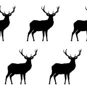 Black Deer - Medium