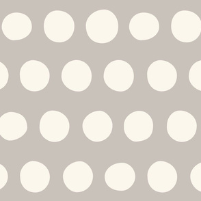 Big Dots: Light Gray