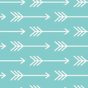 Arrows on Turquoise