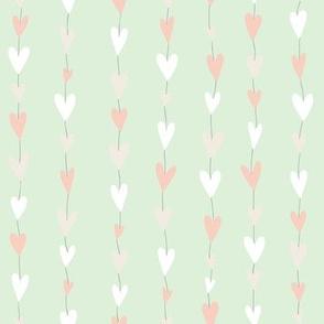 Heart Strings (green)